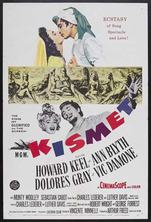 Kismet Movie Posters From Movie Poster Shop