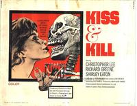 Kiss and Kill - 11 x 14 Movie Poster - Style A