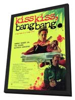 Kiss Kiss, Bang Bang - 11 x 17 Movie Poster - Style B - in Deluxe Wood Frame