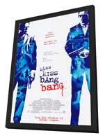 Kiss Kiss, Bang Bang - 11 x 17 Movie Poster - Style A - in Deluxe Wood Frame