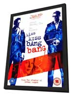 Kiss Kiss, Bang Bang - 27 x 40 Movie Poster - UK Style A - in Deluxe Wood Frame