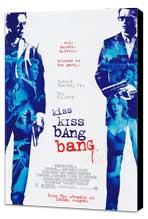 Kiss Kiss, Bang Bang - 11 x 17 Movie Poster - Style A - Museum Wrapped Canvas