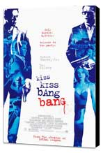 Kiss Kiss, Bang Bang - 27 x 40 Movie Poster - Style B - Museum Wrapped Canvas