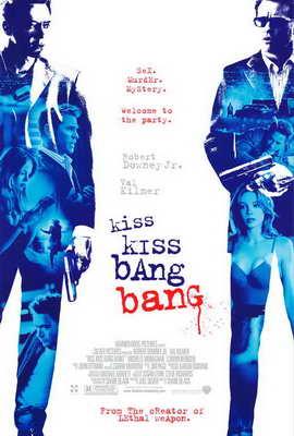 Kiss Kiss, Bang Bang - 27 x 40 Movie Poster - Style B