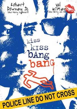 Kiss Kiss, Bang Bang - 11 x 17 Movie Poster - Style D
