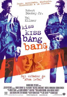 Kiss Kiss, Bang Bang - 27 x 40 Movie Poster - Japanese Style A