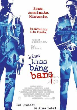 Kiss Kiss, Bang Bang - 27 x 40 Movie Poster - Japanese Style B