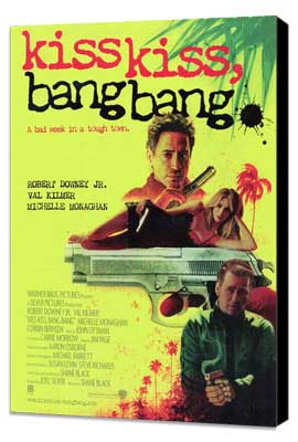 Kiss Kiss, Bang Bang - 11 x 17 Movie Poster - Style B - Museum Wrapped Canvas