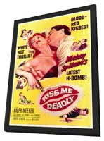 Kiss Me Deadly - 11 x 17 Movie Poster - Style A - in Deluxe Wood Frame