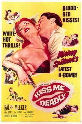 Kiss Me Deadly - 11 x 17 Movie Poster - Style A