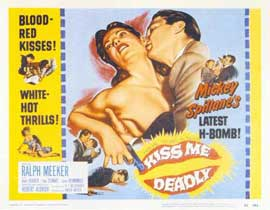 Kiss Me Deadly - 11 x 14 Movie Poster - Style A