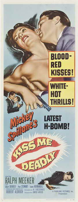 Kiss Me Deadly - 14 x 36 Movie Poster - Insert Style A