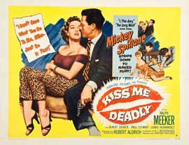Kiss Me Deadly - 22 x 28 Movie Poster - Style A