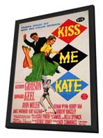 Kiss Me Kate - 11 x 17 Movie Poster - Style A - in Deluxe Wood Frame