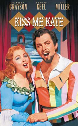 Kiss Me Kate - 11 x 17 Movie Poster - Style B
