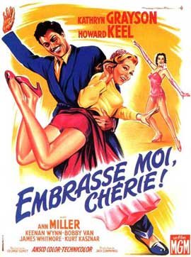Kiss Me Kate - 11 x 17 Movie Poster - French Style A