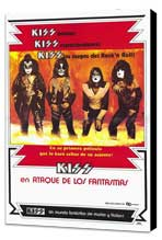 KISS Meets the Phantom of the Park - 27 x 40 Movie Poster - Spanish Style A - Museum Wrapped Canvas