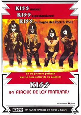 KISS Meets the Phantom of the Park - 11 x 17 Movie Poster - Spanish Style A