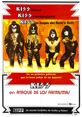KISS Meets the Phantom of the Park - 43 x 62 Movie Poster - Spanish Style A