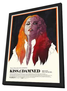 Kiss of the Damned - 27 x 40 Movie Poster - Style A - in Deluxe Wood Frame