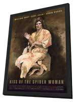 Kiss of the Spider Woman - 11 x 17 Movie Poster - Style D - in Deluxe Wood Frame