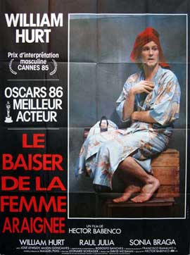 Kiss of the Spider Woman - 11 x 17 Movie Poster - French Style A