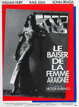 Kiss of the Spider Woman - 11 x 17 Movie Poster - French Style B