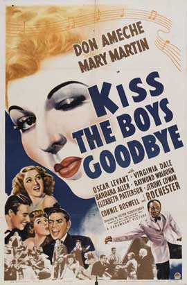 Kiss the Boys Goodbye - 11 x 17 Movie Poster - Style A