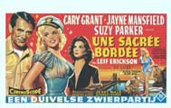 Kiss Them For Me - 14 x 22 Movie Poster - Belgian Style A