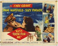 Kiss Them For Me - 22 x 28 Movie Poster - Half Sheet Style A