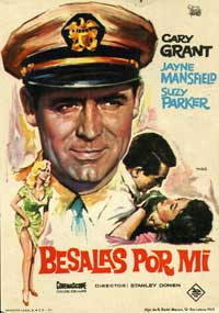 Kiss Them For Me - 27 x 40 Movie Poster - Spanish Style A