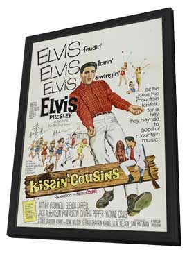 Kissin' Cousins - 11 x 17 Movie Poster - Style A - in Deluxe Wood Frame