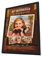 Kit Kittredge: An American Girl - 11 x 17 Movie Poster - Style B - in Deluxe Wood Frame
