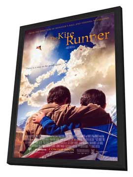 The Kite Runner - 11 x 17 Movie Poster - Style A - in Deluxe Wood Frame