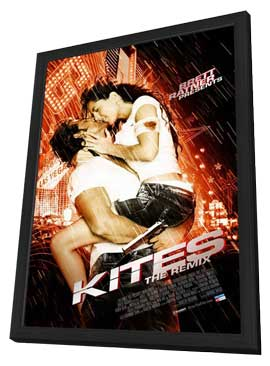 Kites - 11 x 17 Movie Poster - Style A - in Deluxe Wood Frame