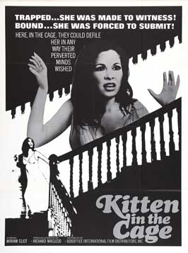 Kitten in a Cage - 11 x 17 Movie Poster - Style A