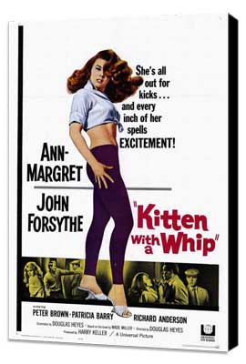Kitten with a Whip - 27 x 40 Movie Poster - Style A - Museum Wrapped Canvas