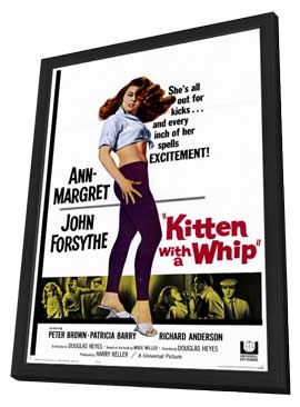 Kitten with a Whip - 11 x 17 Movie Poster - Style A - in Deluxe Wood Frame