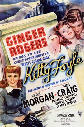 Kitty Foyle: The Natural History of a Woman - 11 x 17 Movie Poster - Style A