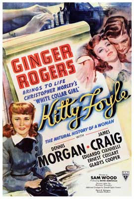 Kitty Foyle: The Natural History of a Woman - 27 x 40 Movie Poster - Style A