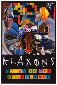 Klaxons - Music Poster - 24 x 36 - Style E