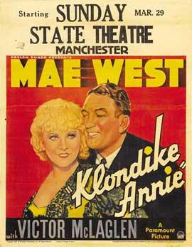 Klondike Annie - 11 x 17 Movie Poster - Style A
