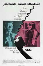 Klute - 11 x 17 Movie Poster - Style B