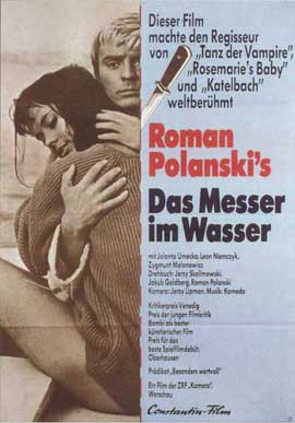 Knife in the Water - 11 x 17 Movie Poster - German Style A