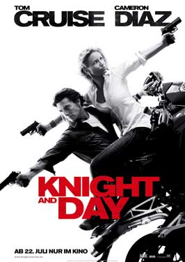 Knight and Day - 27 x 40 Movie Poster - German Style A