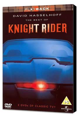 Knight Rider - 27 x 40 Movie Poster - UK Style A - Museum Wrapped Canvas