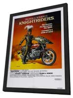 Knightriders - 11 x 17 Movie Poster - Style B - in Deluxe Wood Frame