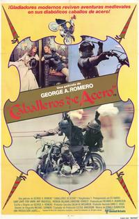Knightriders - 11 x 17 Movie Poster - Spanish Style A