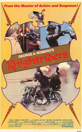 Knightriders - 11 x 17 Movie Poster - Style A
