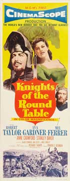 Knights of the Round Table - 14 x 36 Movie Poster - Insert Style A